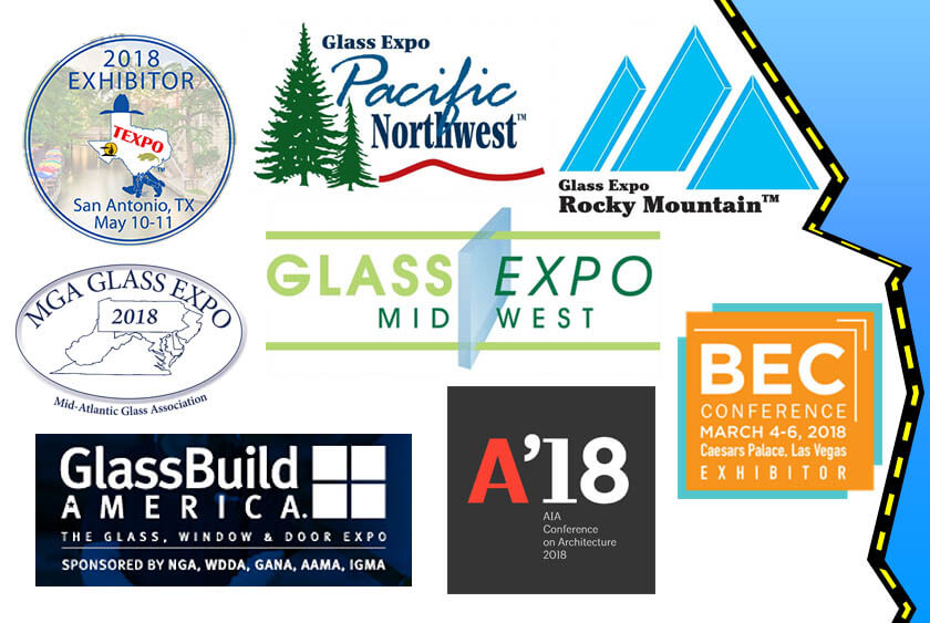 SBG Tradeshows Glass