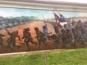 Battle of Cemetery Hill Mural