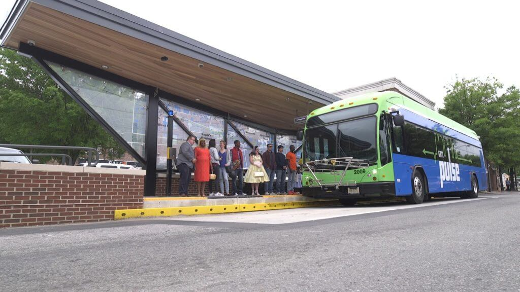 GRTC Pulse Bus Stations